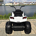 Детский электрический квадроцикл Grizzly 2WD 8868  (колеса резина, сиденье кожа, музыка), фото 6