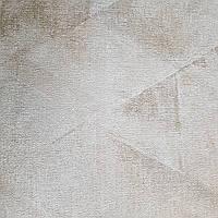 Обои виниловые на флизелине Rasch Victoria метровые абстракция размытая геометрия бежевые золотистые, фото 1