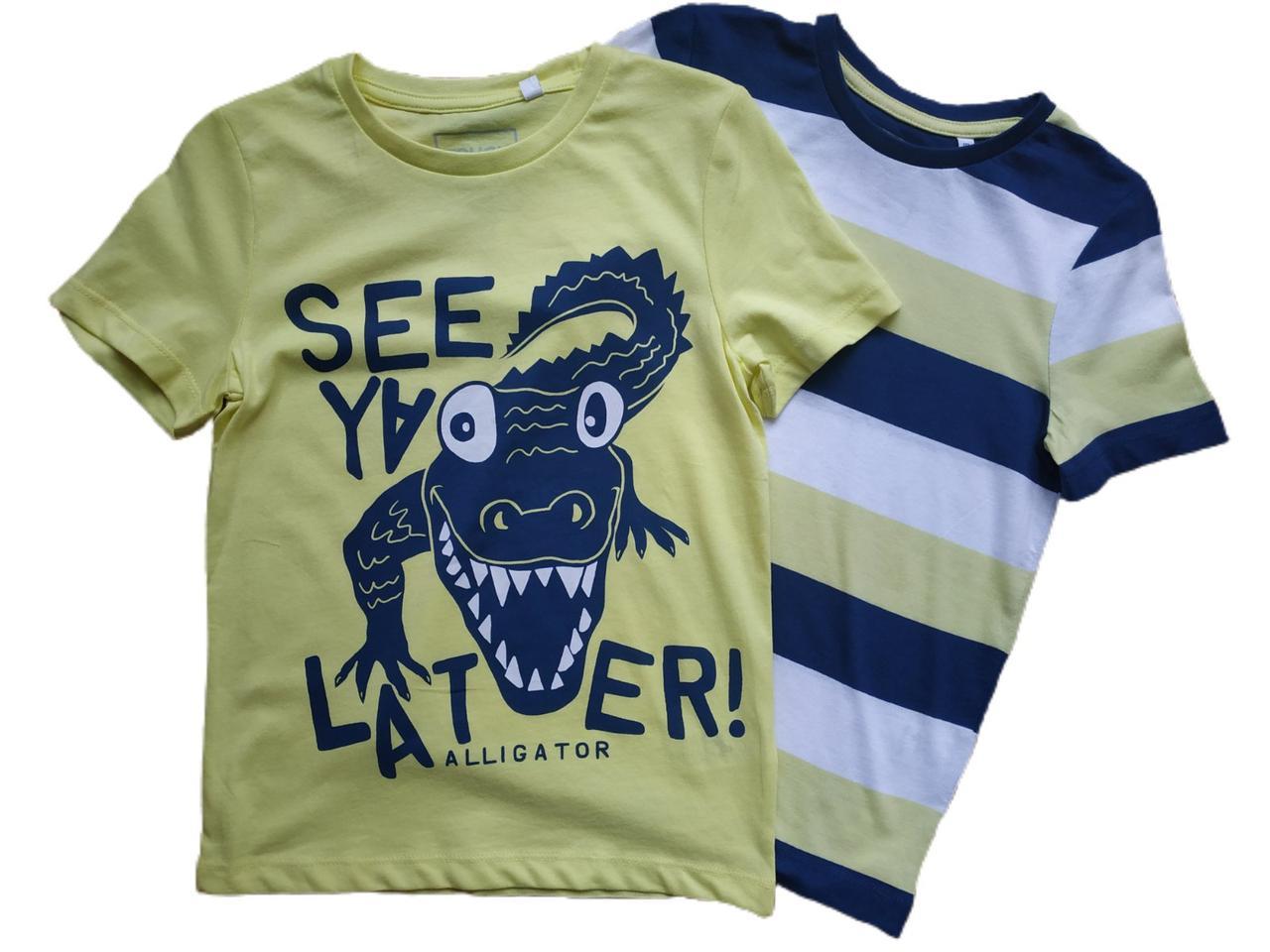 Набір дитячих футболок для хлопчика C&A Німеччина Розмір 122