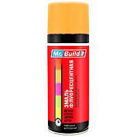 Спрей краска RAL 2007 Mr.Build 24 люминесцентный Ярко-оранжевый 400 мл, фото 1
