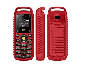 Міні мобільний телефон Gt Star CAT B25 (2 Sim) червоний
