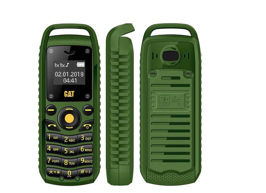 Міні мобільний телефон Gt Star CAT B25 (2 Sim) зелений