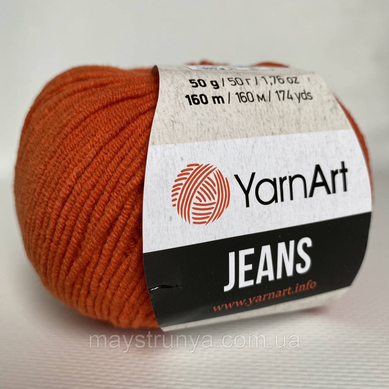 YarnArt Jeans (ярнарт джинс) 85 Кирпичный