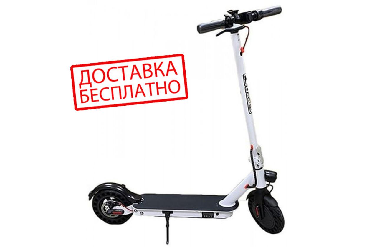 """Електросамокат Crosser E9 Premium (перфорація) 10"""" - Чорний (1000вт, 7500 mAh) електричний самокат кросер е9"""