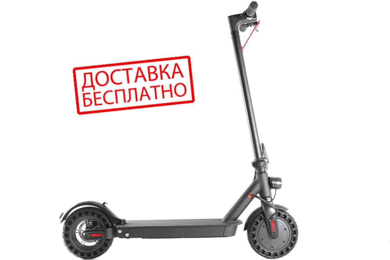 """Электросамокат Crosser E9 Premium (перфорация) 10"""" - Черный (7,5 Ah) электрический самокат кросер е9"""