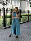 Платье женское бирюзовое миди Миори Style-Nika SN2015/3-04, фото 2