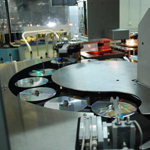 услуги записи данных на DVD/CD