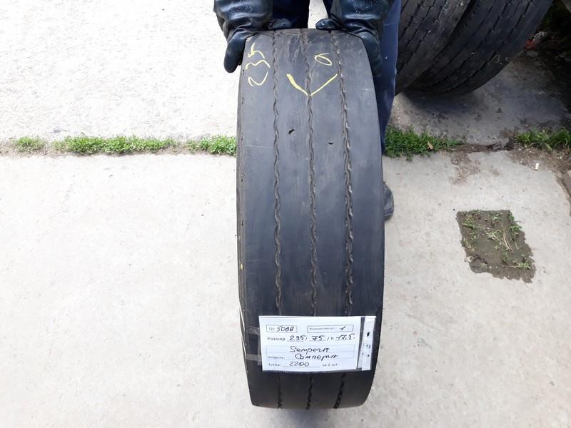 Шины б.у. 235.75.r17.5 Semperit Runner T2 Семперит. Резина бу для грузовиков и автобусов