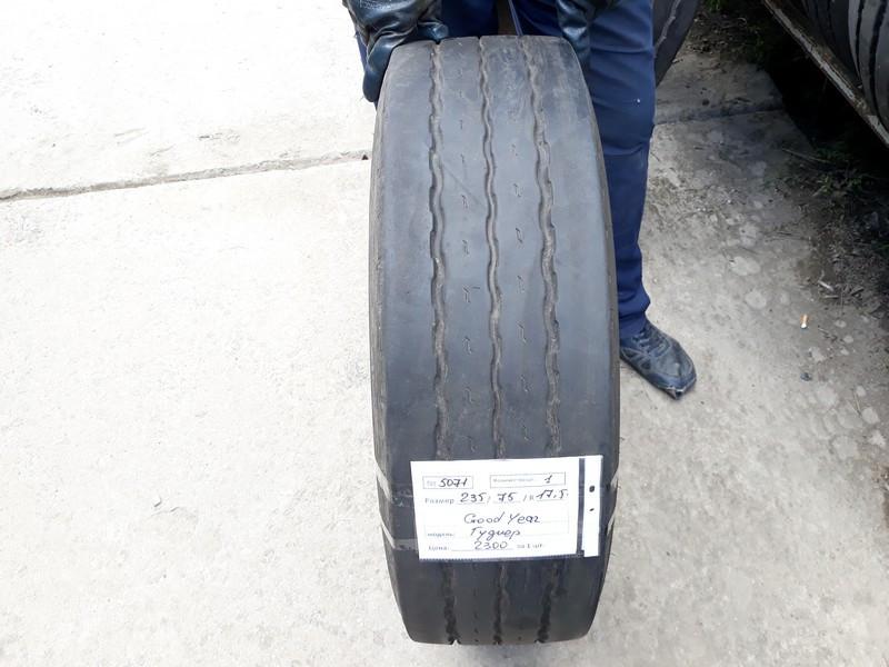 Шины б.у. 235.75.r17.5 Goodyear K MAX T Гудиер. Резина бу для грузовиков и автобусов