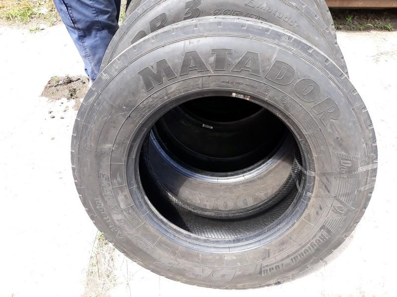 Шины б.у. 225.75.r17.5 Matador DR3 Матадор. Резина бу для грузовиков и автобусов