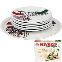 Набір тарілок для піцци Італіан (30см, 20см) Snt 30839-03-03