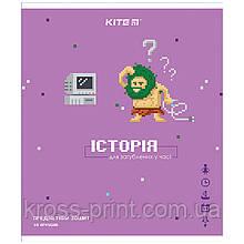Предметная тетрадь Kite Pixel K21-240-12, 48 листов, клетка, история