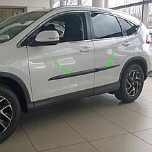 Молдинги на двері для Honda CR-V Mk4 2012-2018