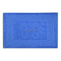 """Килимок для ванної Home Line махровий """"Ніжки"""" 50х70 см (135803) Темно-синій"""