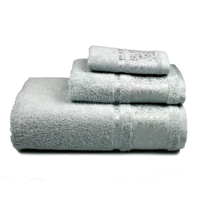 """Полотенце для рук и лица махровое Home Line """"Bamboo"""" 50х90 см (127255) Голубое"""