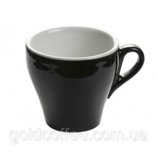 Черная чашка для капучино 162мл Genova