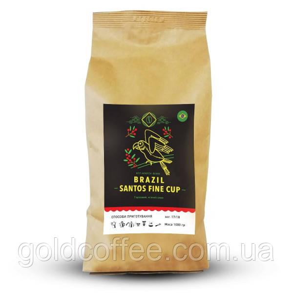 Мелена кава Арабіка Бразилія Сантос, 0.25 кг