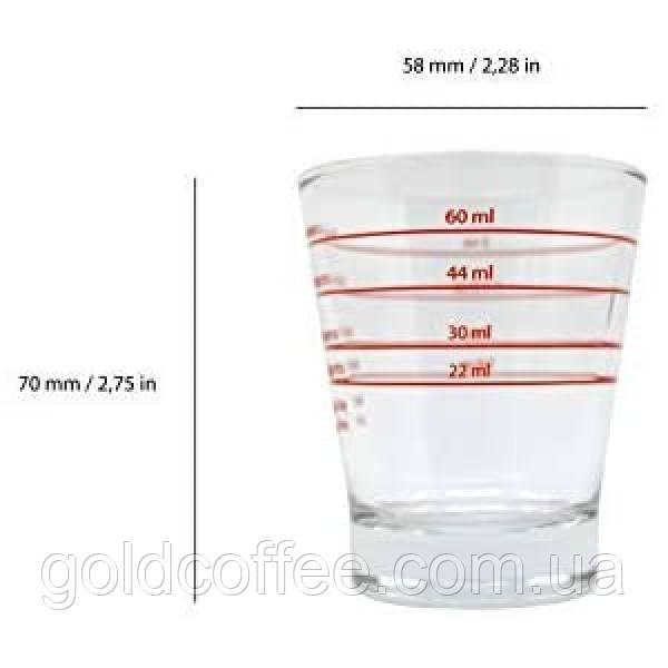 Мірний стаканьчик 22мл, 30мл, 44мл, 60мл