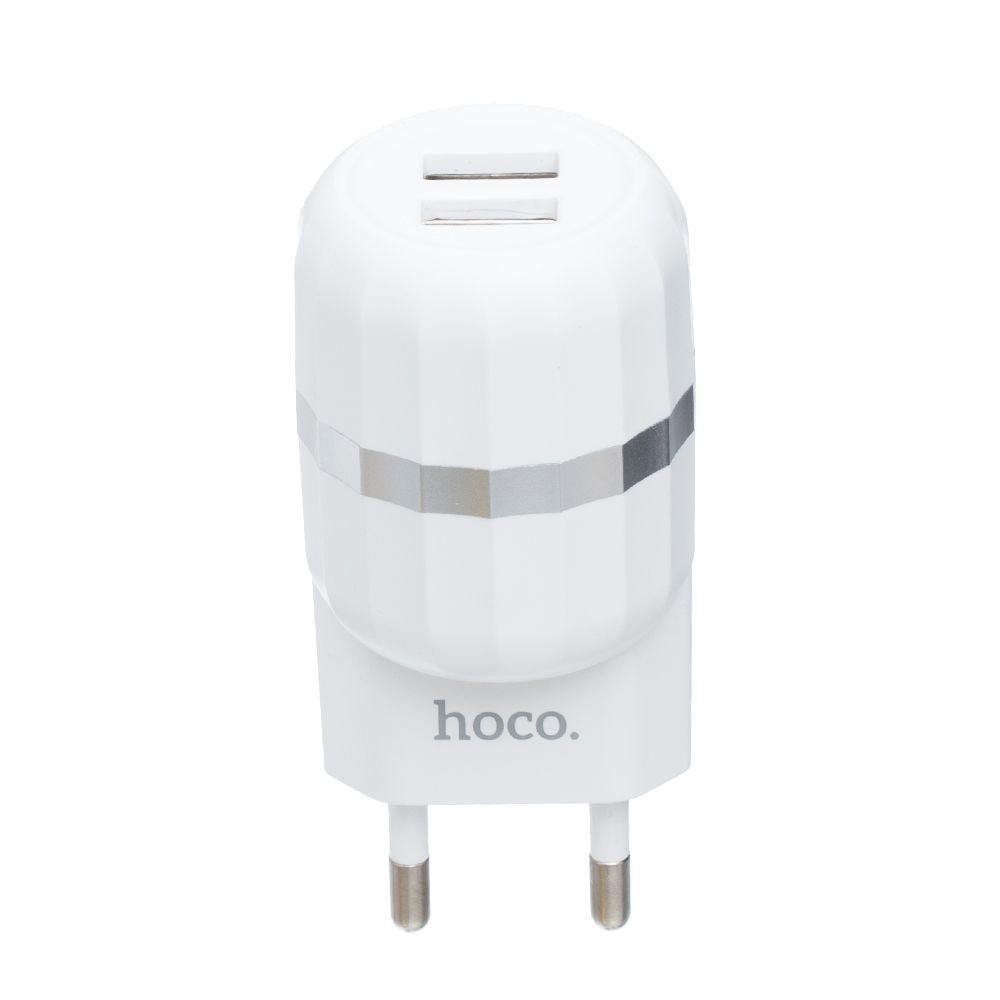 Сетевое Зарядное Устройство Hoco C41A Type-C 2USB 12w