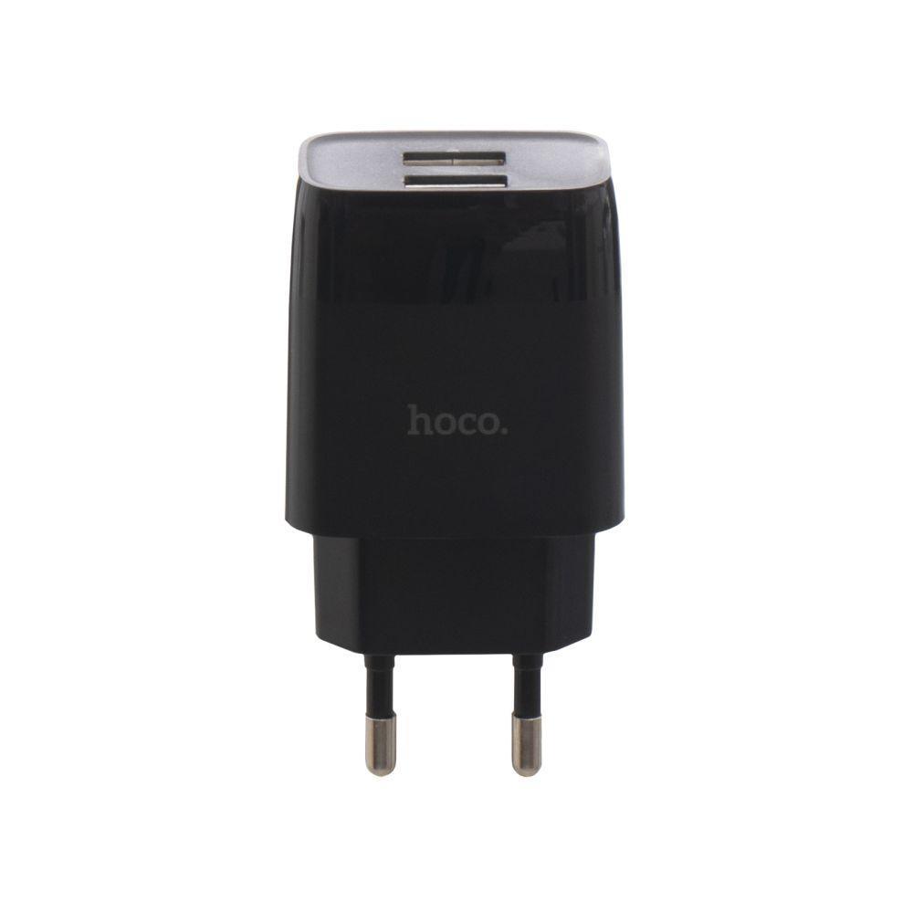 Сетевое Зарядное Устройство Hoco C73A 2USB Micro