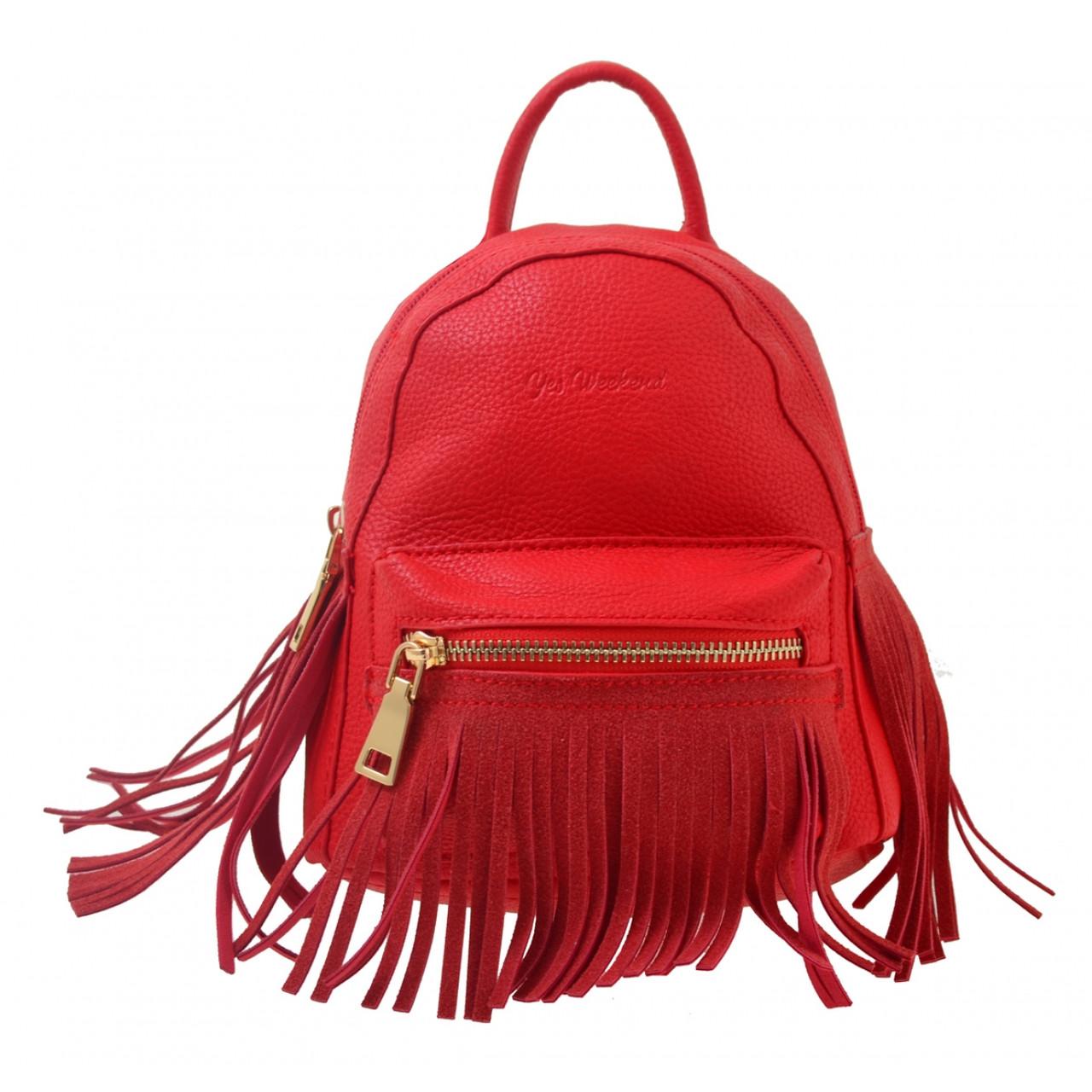 Сумка-рюкзак YES, червоний , 19,5*17*13
