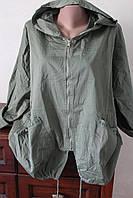 Жіночий кардиган з накладними карманами