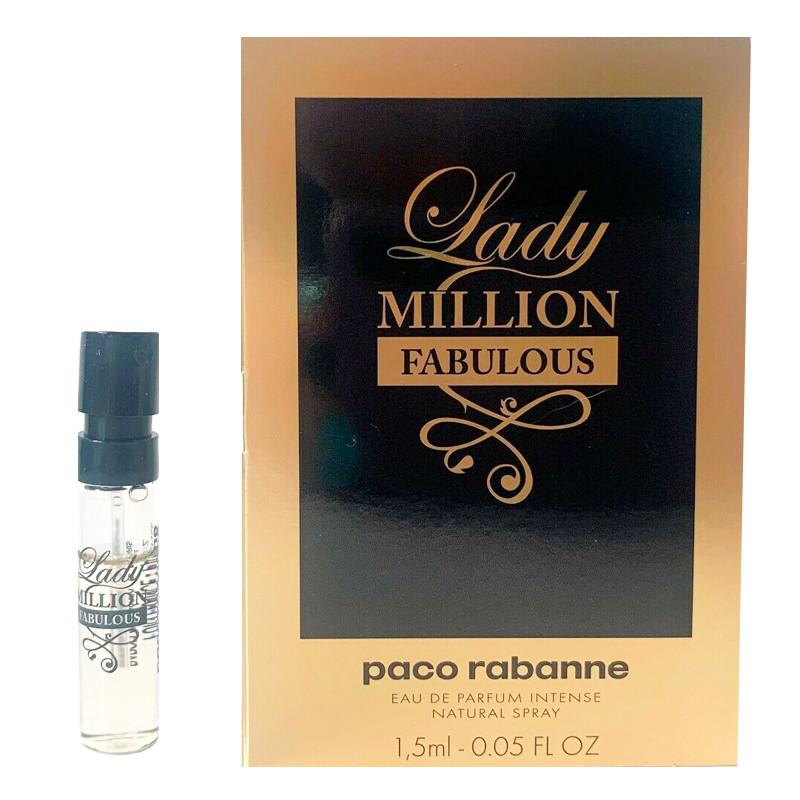 Paco Rabanne Lady Million Fabulous Intense Парфумована вода (пробник) 1.5 ml (3349668594290)