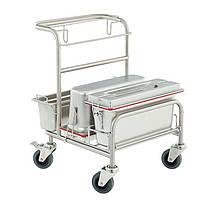 Уборочная тележка для «чистых помещений» Clino CR1 EM-GMP