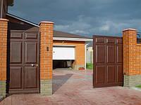 Откатные ворота. Зашивка — «ФИЛЕНКА», заказать., фото 1
