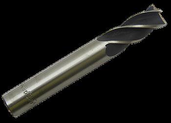 Фреза концевая Ø 10 Z-4 Р6М5 с цилиндрическим хвостовиком