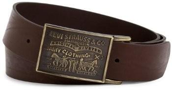 Ремень Levi's Men's 38MM Plaque Bridle Belt
