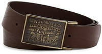 Ремень Levi's Men's 38MM Plaque Bridle Belt, фото 1