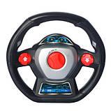 Машина 338B-109 р/у,аккум,1:14,29 см,гумові колеса,муз,світло,39-19-16,5 см, фото 3