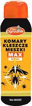 Спрей от клещей МАКС для одежды 50 мл, Pan Ogrodnik