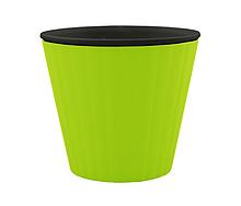 Цветочный горшок Алеана «Ибис» на 1 л, 1.6 л ,2.3 л арт 6424  разные цвета.