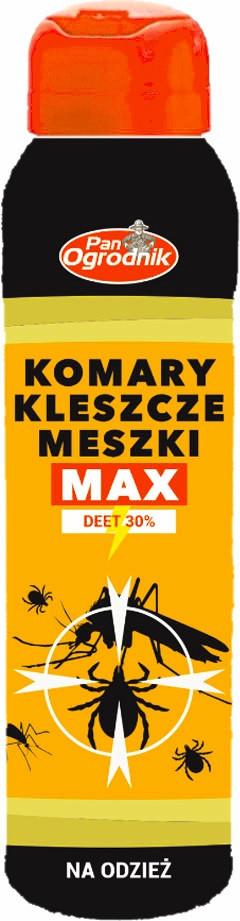 Спрей від кліщів МАКС для одягу 90 мл, Pan Ogrodnik