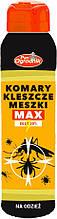 Спрей от клещей МАКС для одежды 90 мл, Pan Ogrodnik