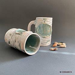 Керамическая чашка «Одесса» ручной работы