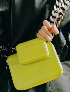 Міні-та мікро-сумка з масивної ланцюжком