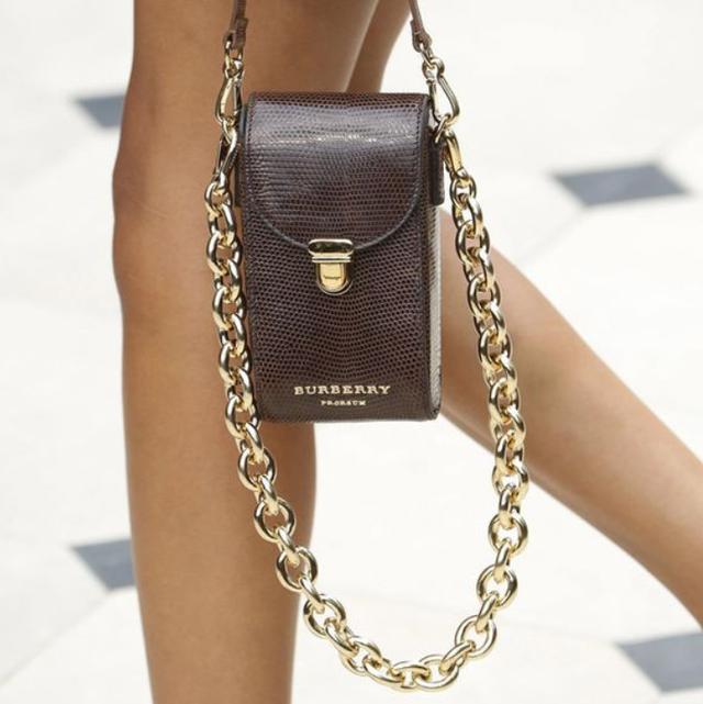 Міні-сумка з ланцюгом