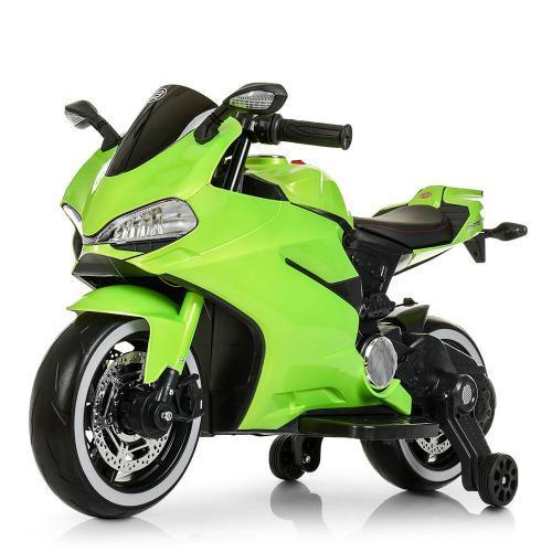 Детский мотоцикл Bambi Racer M 4104ELS-5, 2 мотора 25W, свет, MP3, USB