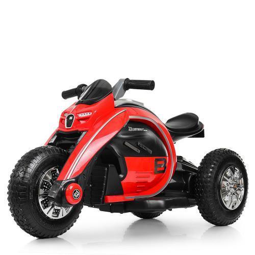 Дитячий мотоцикл Bambi Racer M 4134A-3, музика, світло, MP3, TF, USB
