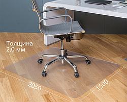 Захисний килимок Оскар Шагрень 2000х1500х2,0 з округленими кутами