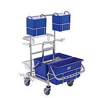 Тележка для уборки «чистых помещений» Clino CR4 MF-CR, фото 1