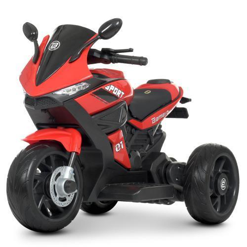 Дитячий мотоцикл Bambi Racer M 4454EL-3, музика, світло, колесаEVA, TF