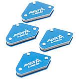 Магнитные струбцины для сварки набор 4 шт., 9 кг ASTA A-4MAG9, фото 9