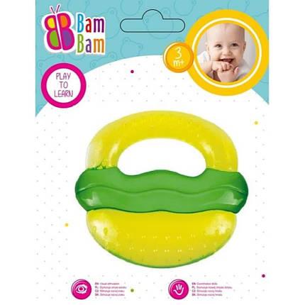 """BAM BAM Прорезыватель для зубов """"Гамбургер"""", фото 2"""