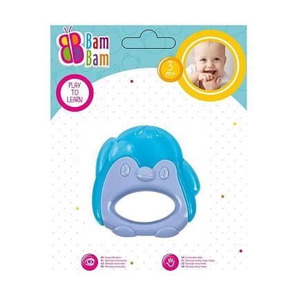 """BAM BAM Прорізувач для зубів """"Пінгвін блакитний"""", фото 2"""