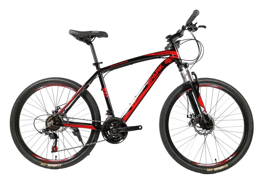 Велосипед SPARK MAGNUM 26-AL-19-AM-D (Чорний з червоним)