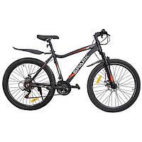 Велосипед SPARK DAN 26-AL-19-AM-D (Чорний з червоним)